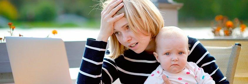 El estrés materno afecta a la salud dental de los hijos