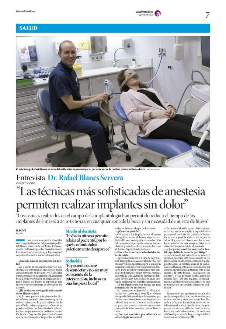 Entrevistas Diario de Mallorca